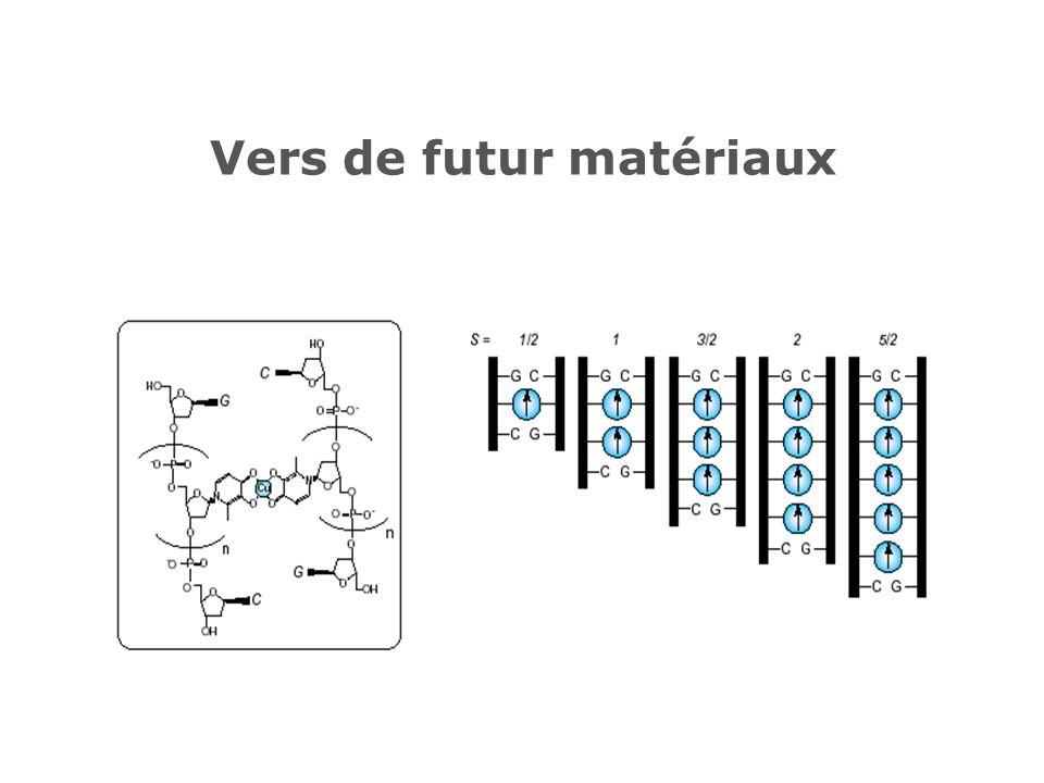 Vers de futur matériaux