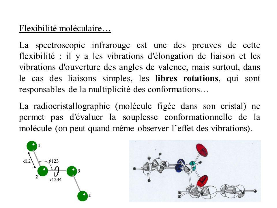 Flexibilité moléculaire…