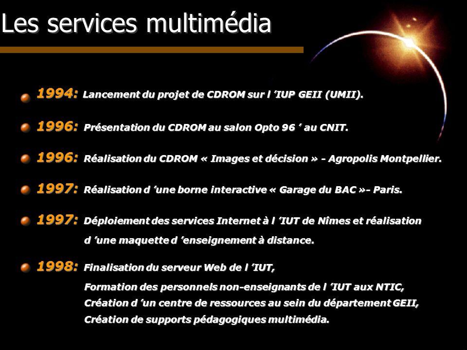Les services multimédia