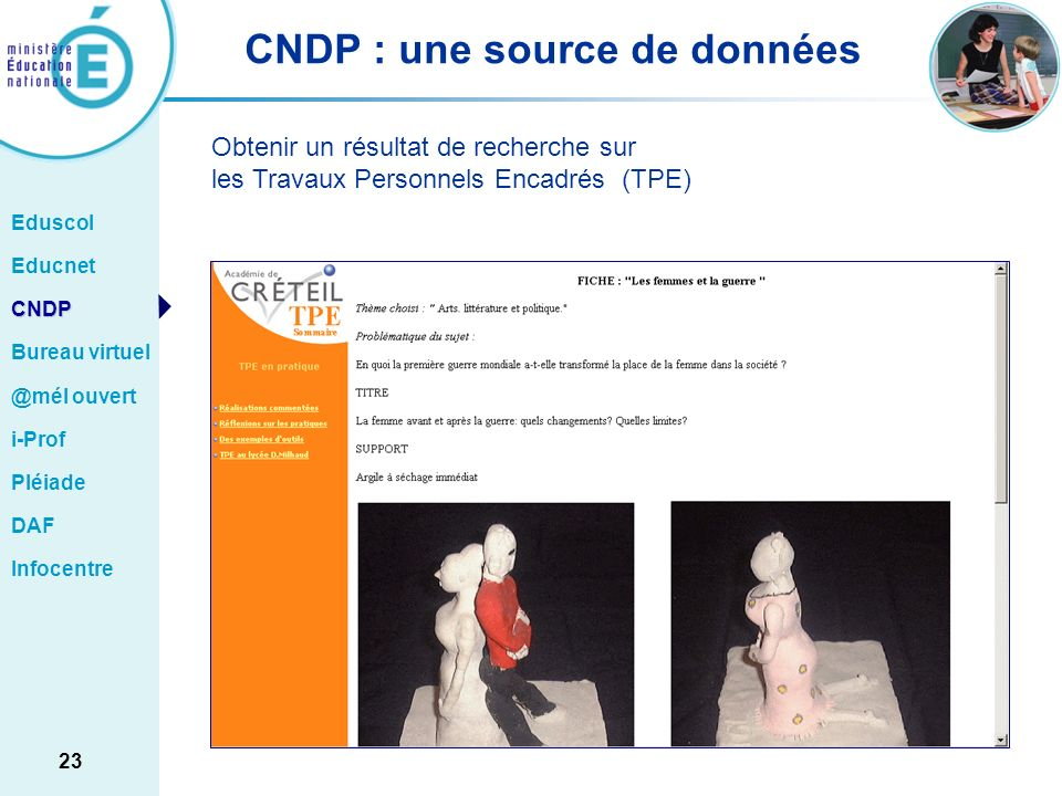 CNDP : une source de données