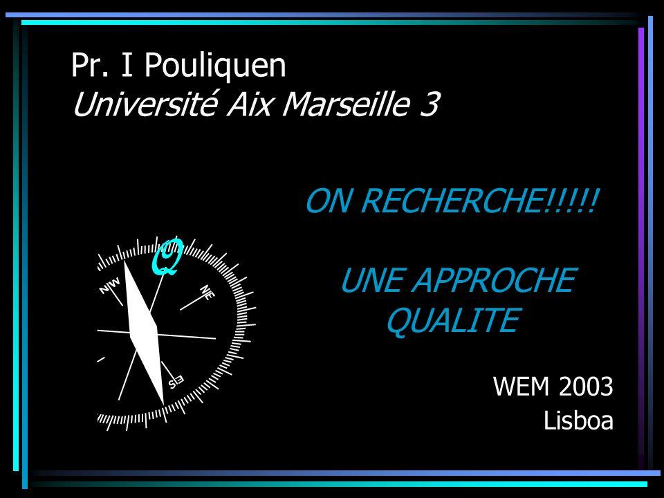 Pr. I Pouliquen Université Aix Marseille 3
