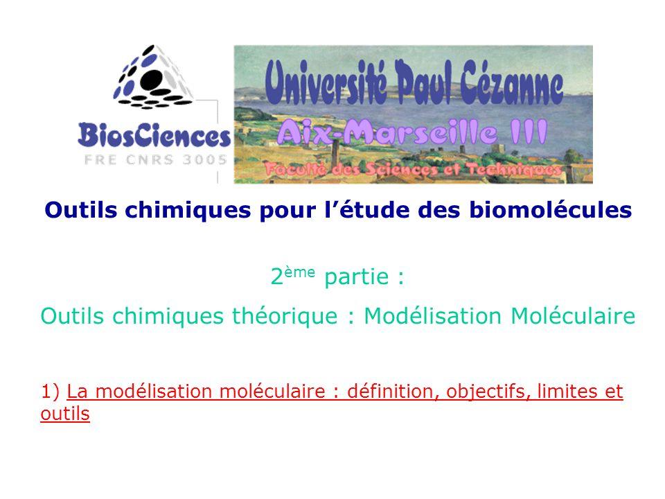 Outils chimiques pour l'étude des biomolécules