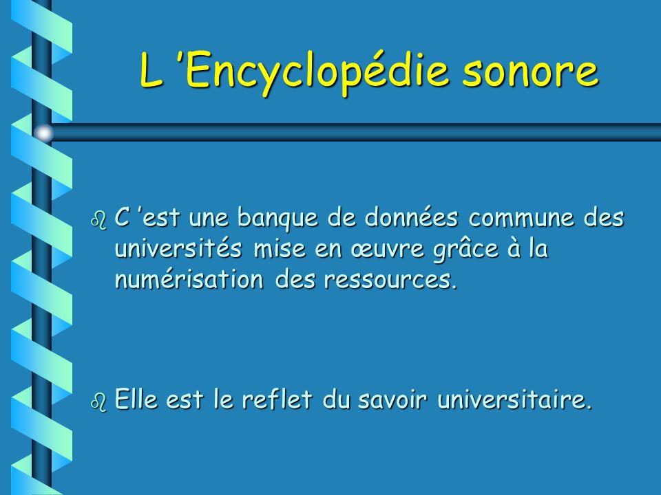L 'Encyclopédie sonore