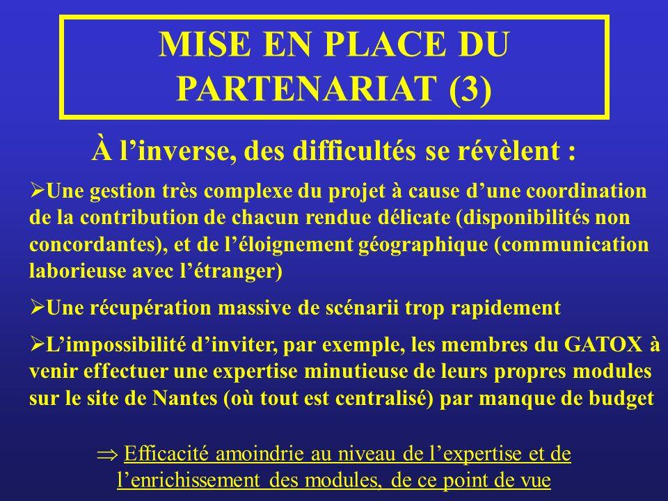 MISE EN PLACE DU PARTENARIAT (3)
