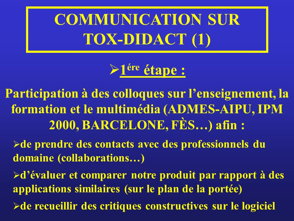 COMMUNICATION SUR TOX-DIDACT (1)