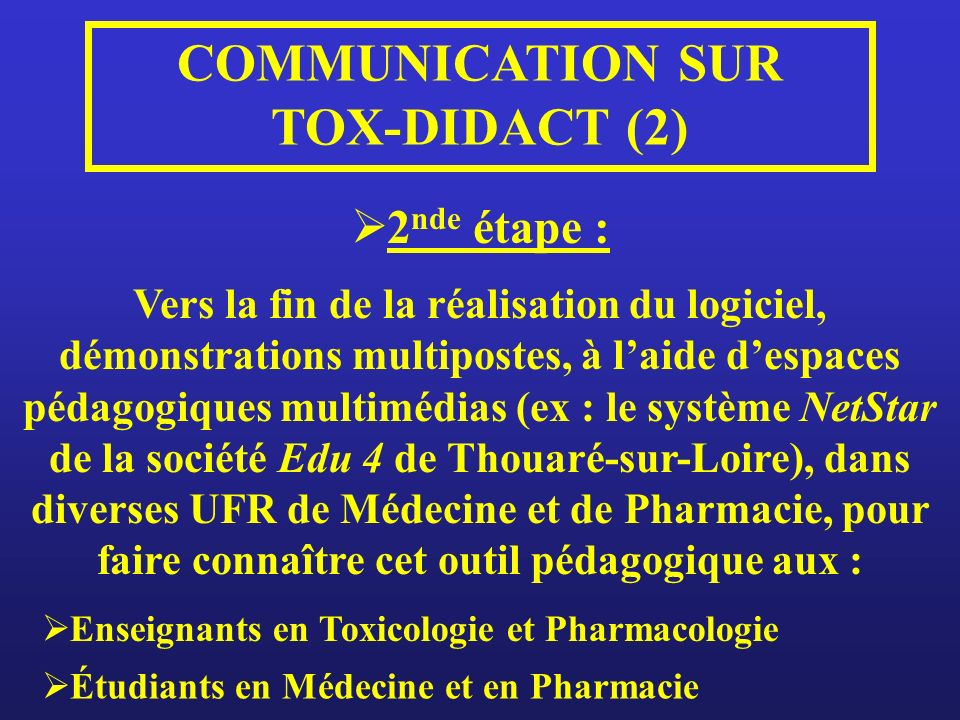 COMMUNICATION SUR TOX-DIDACT (2)