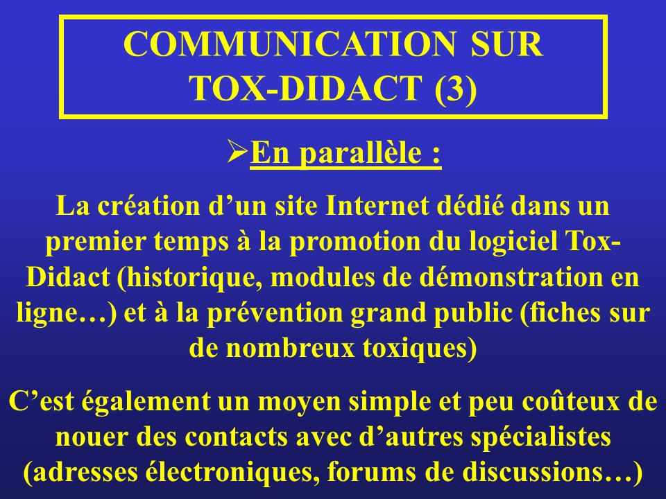 COMMUNICATION SUR TOX-DIDACT (3)