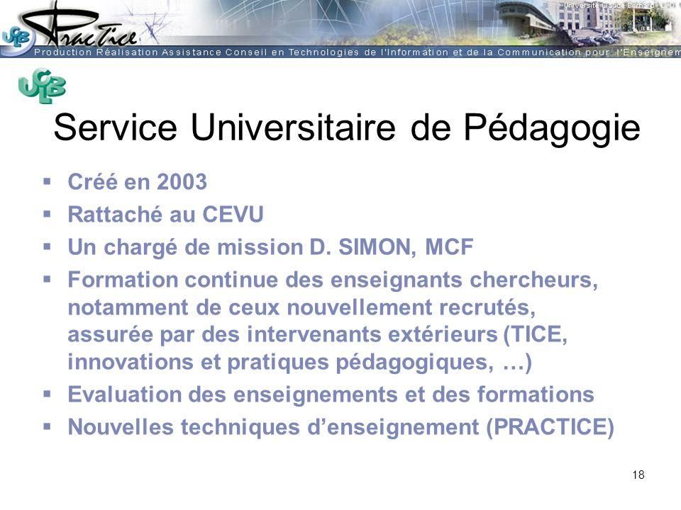 Service Universitaire de Pédagogie