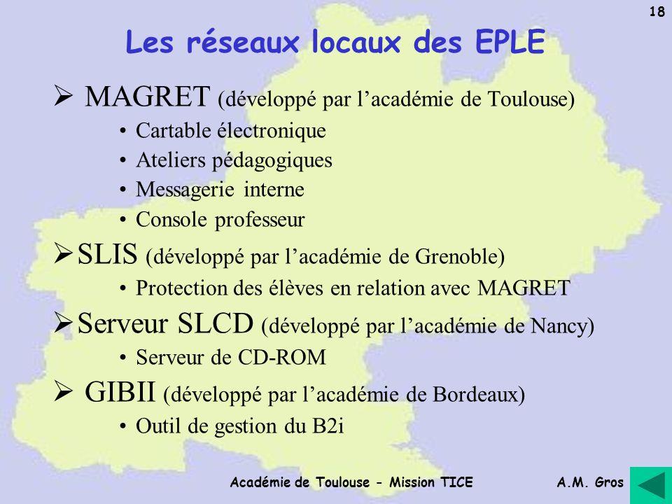 Les réseaux locaux des EPLE