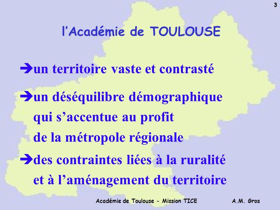 l'Académie de TOULOUSE Académie de Toulouse - Mission TICE