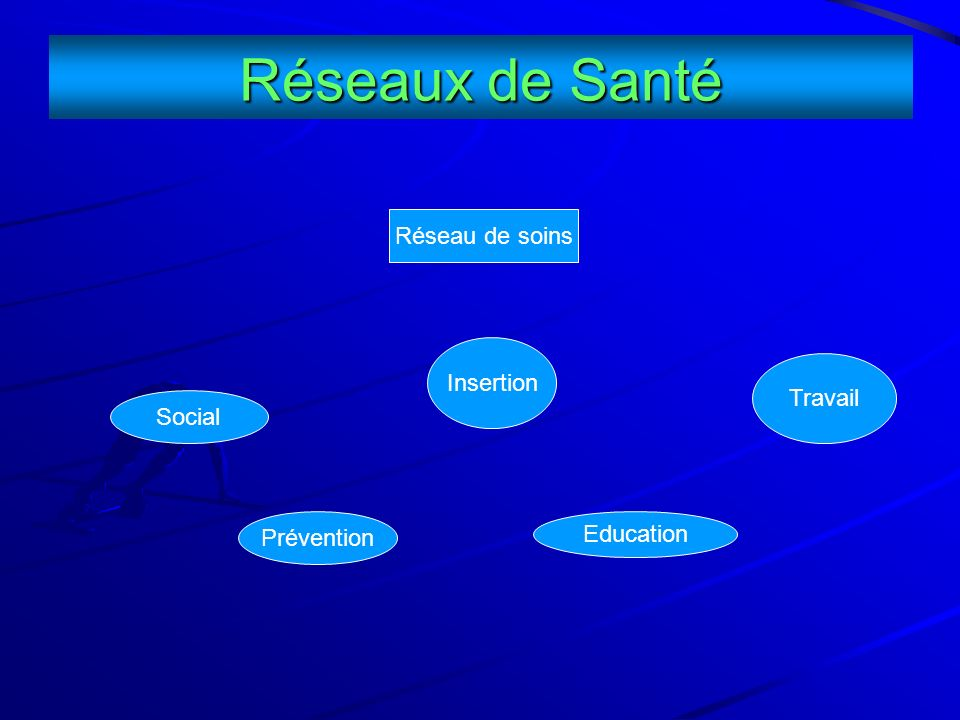 Réseaux de Santé Réseau de soins Insertion Travail Social Prévention