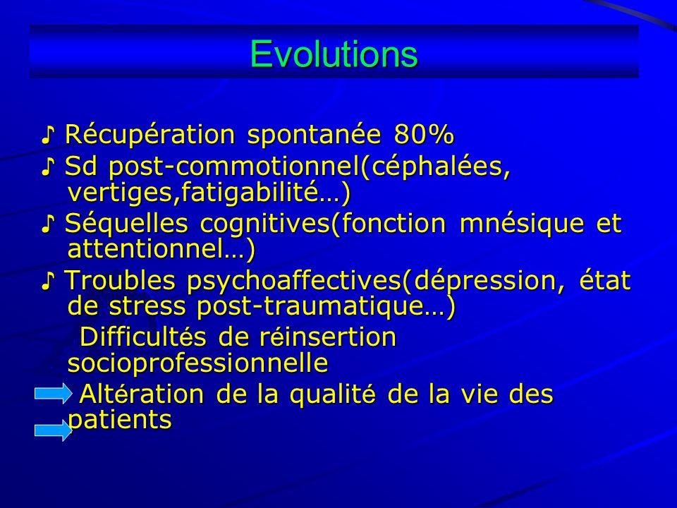 Evolutions ♪ Récupération spontanée 80%