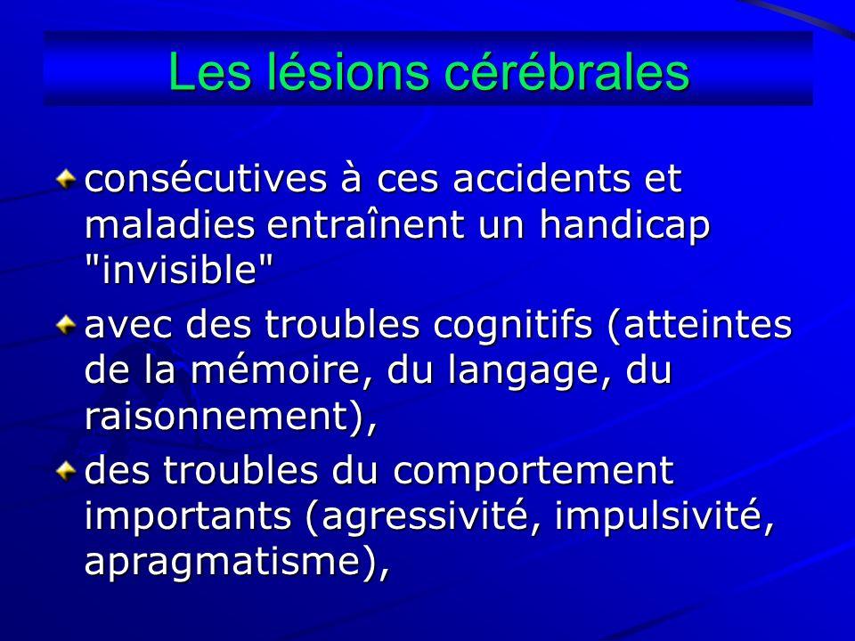 Les lésions cérébrales