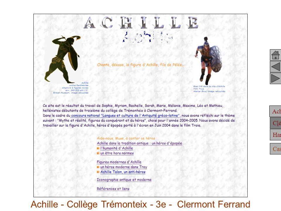 Achille - Collège Trémonteix - 3e - Clermont Ferrand