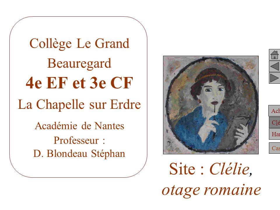 Site : Clélie, otage romaine
