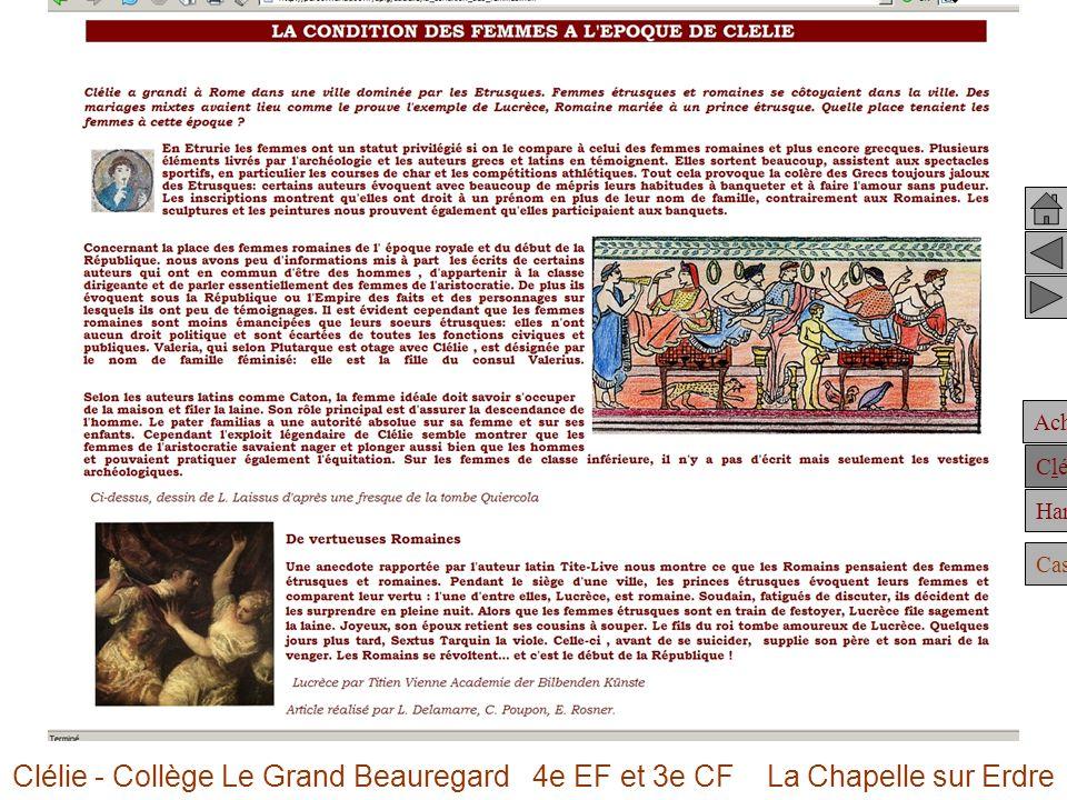 Clélie - Collège Le Grand Beauregard 4e EF et 3e CF La Chapelle sur Erdre