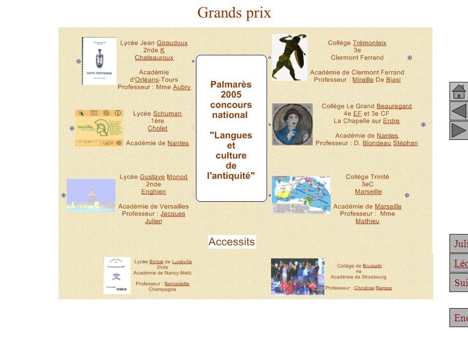 Grands prix Achille Clélie Julien et Hypatie