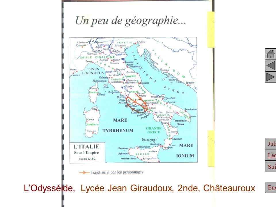 L'Odysséide, Lycée Jean Giraudoux, 2nde, Châteauroux