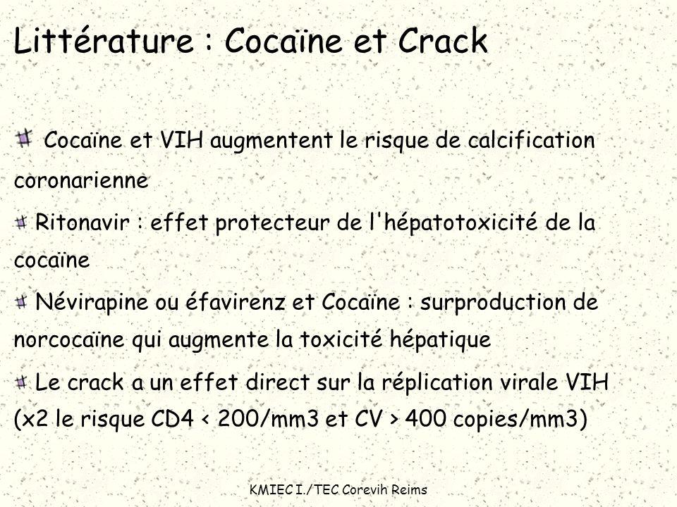 Littérature : Cocaïne et Crack