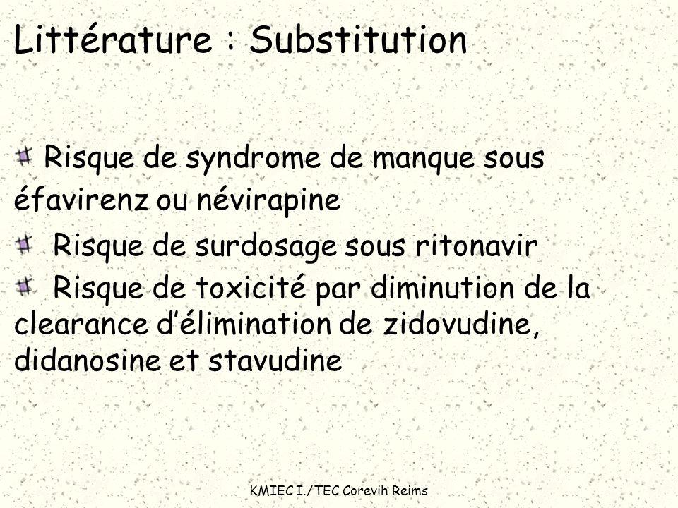 Littérature : Substitution