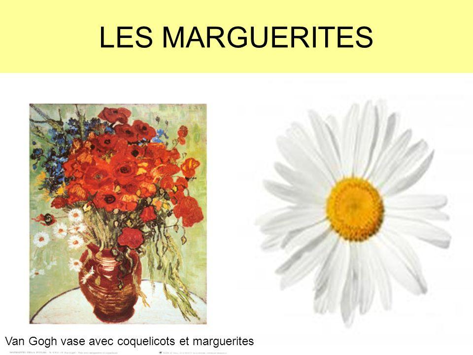 LES MARGUERITES Van Gogh vase avec coquelicots et marguerites
