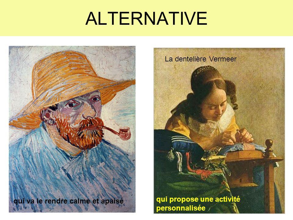 ALTERNATIVE La dentelière Vermeer