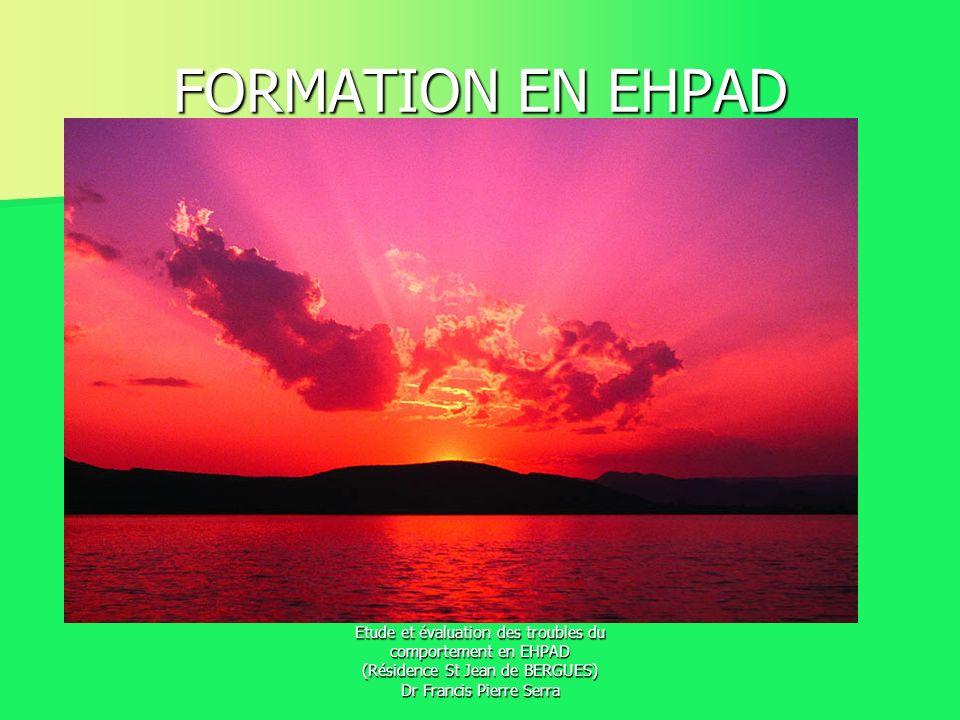 FORMATION EN EHPAD Bienvenue à tous