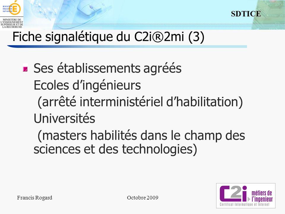 Fiche signalétique du C2i®2mi (3)