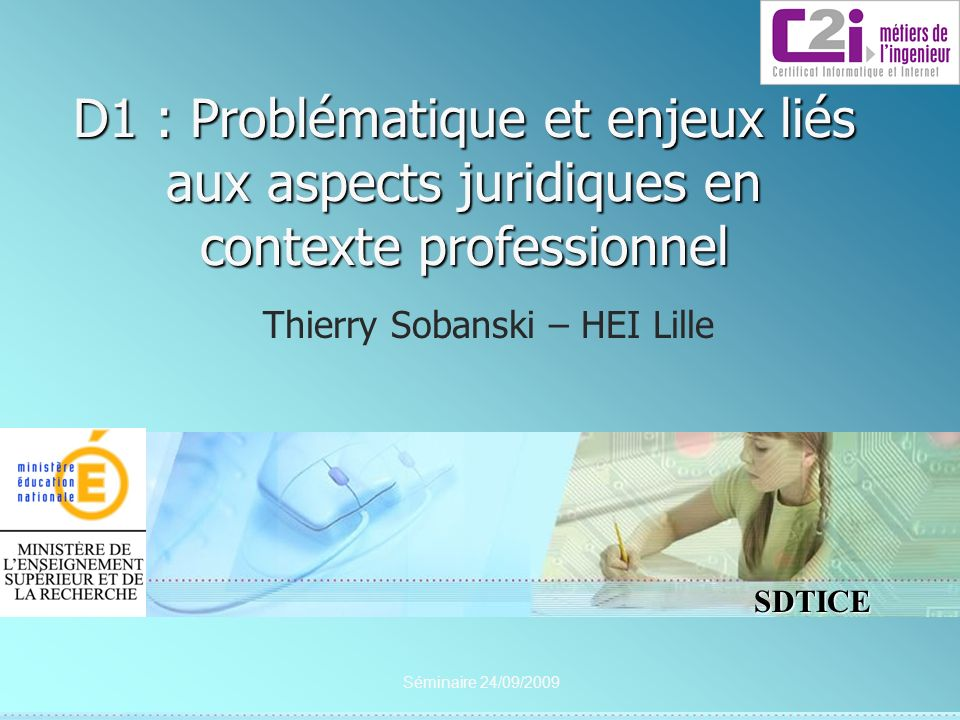 Thierry Sobanski – HEI Lille