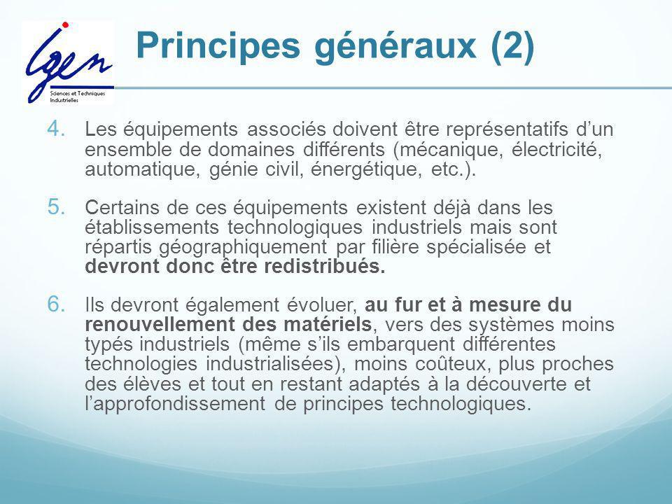 Principes généraux (2)