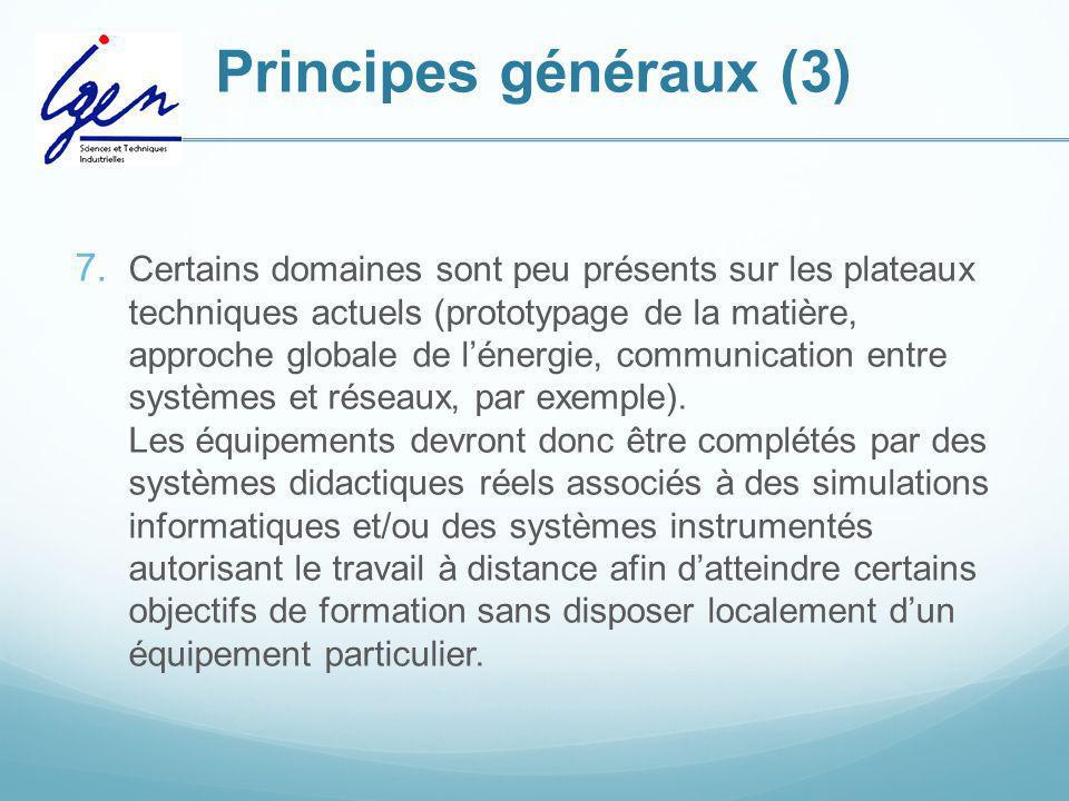 Principes généraux (3)