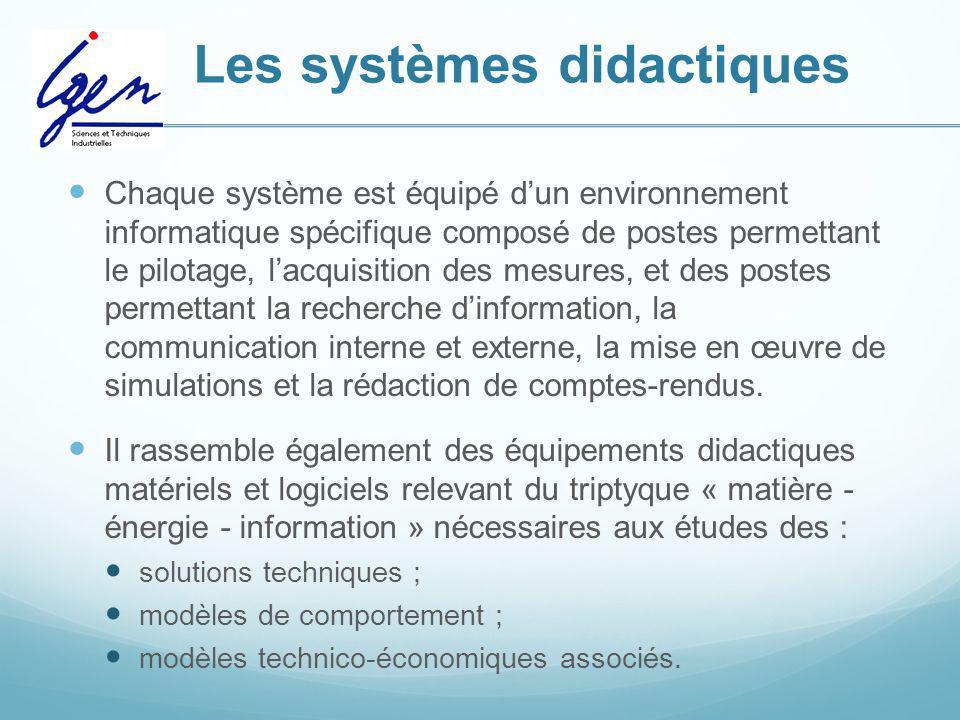 Les systèmes didactiques
