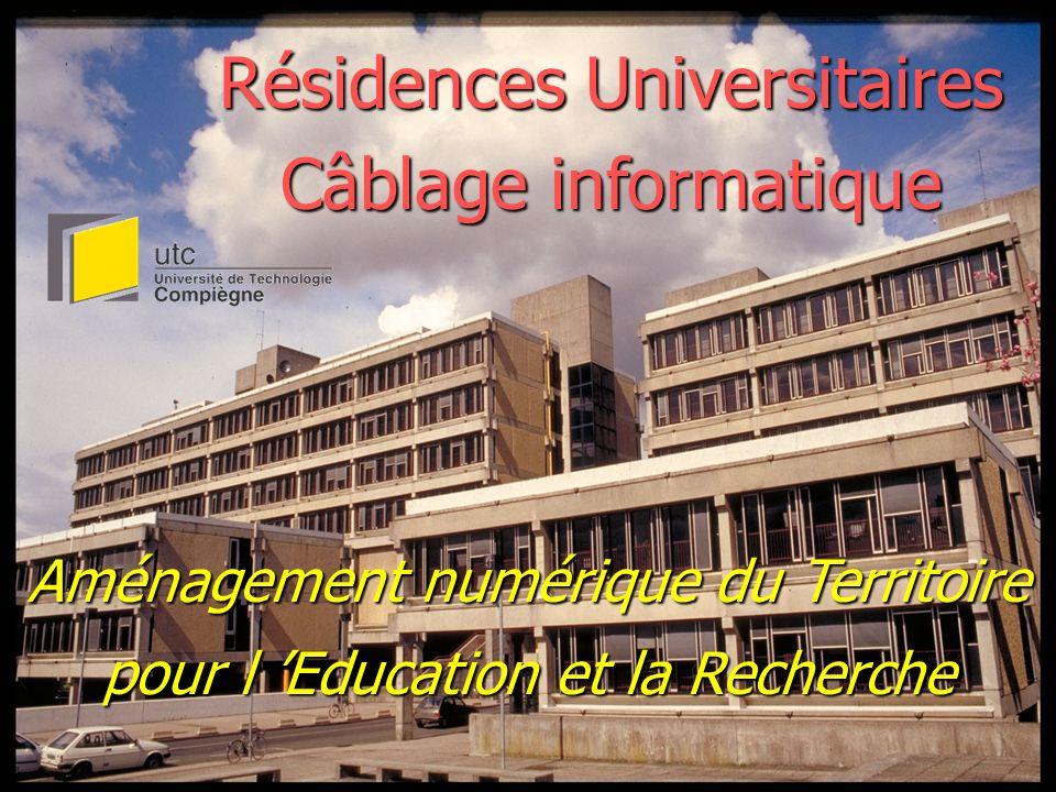 Résidences Universitaires Câblage informatique
