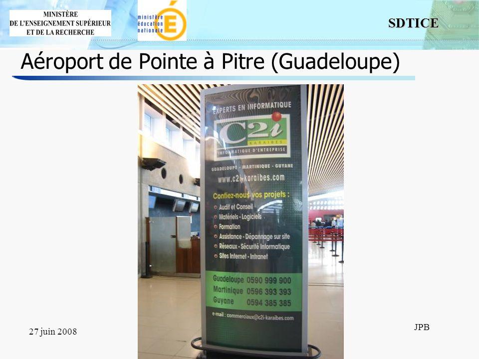 Aéroport de Pointe à Pitre (Guadeloupe)