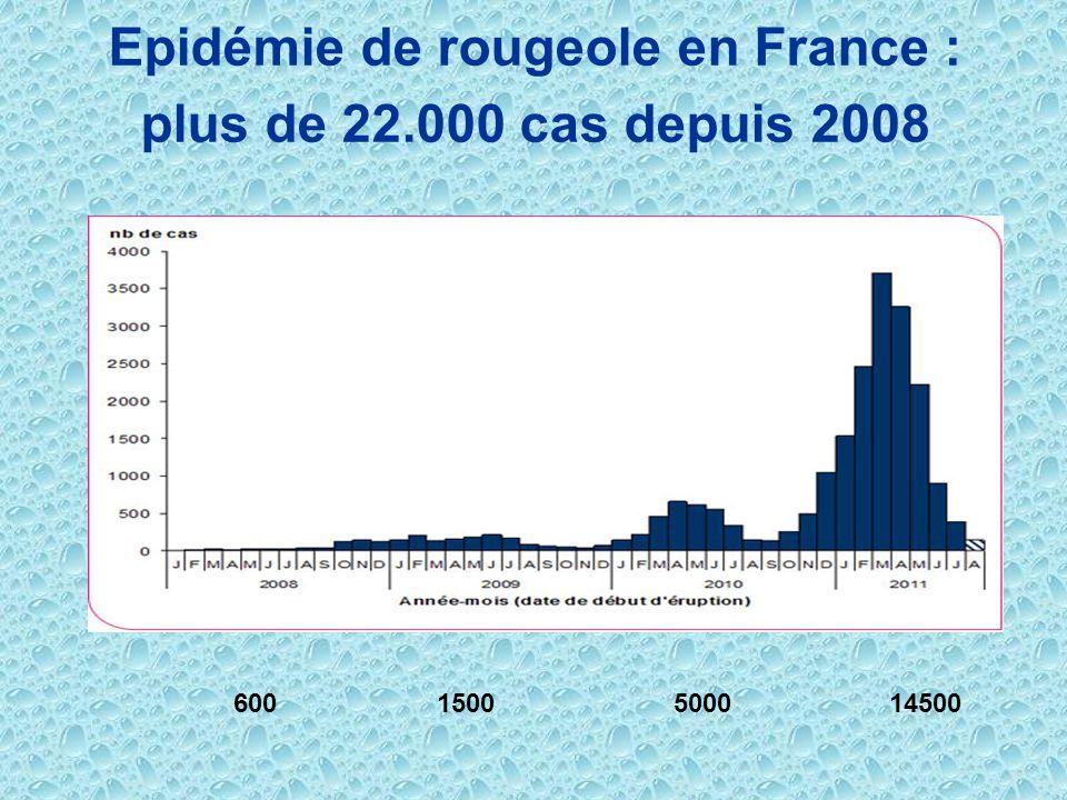 Epidémie de rougeole en France :