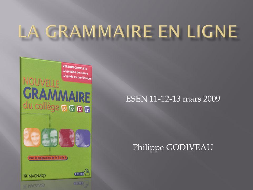 ESEN 11-12-13 mars 2009 Philippe GODIVEAU
