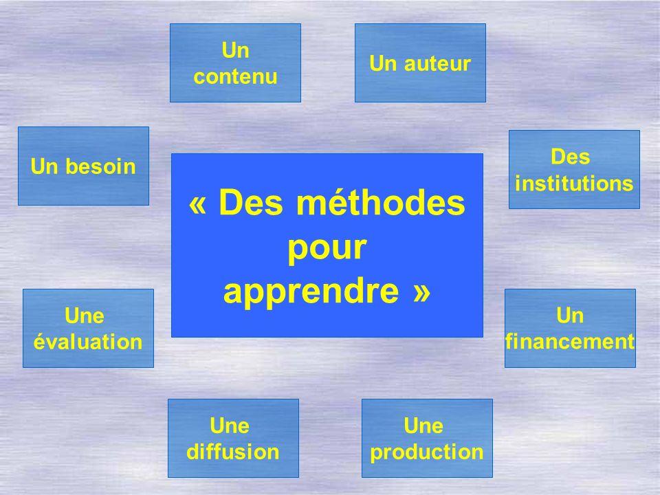 « Des méthodes pour apprendre »