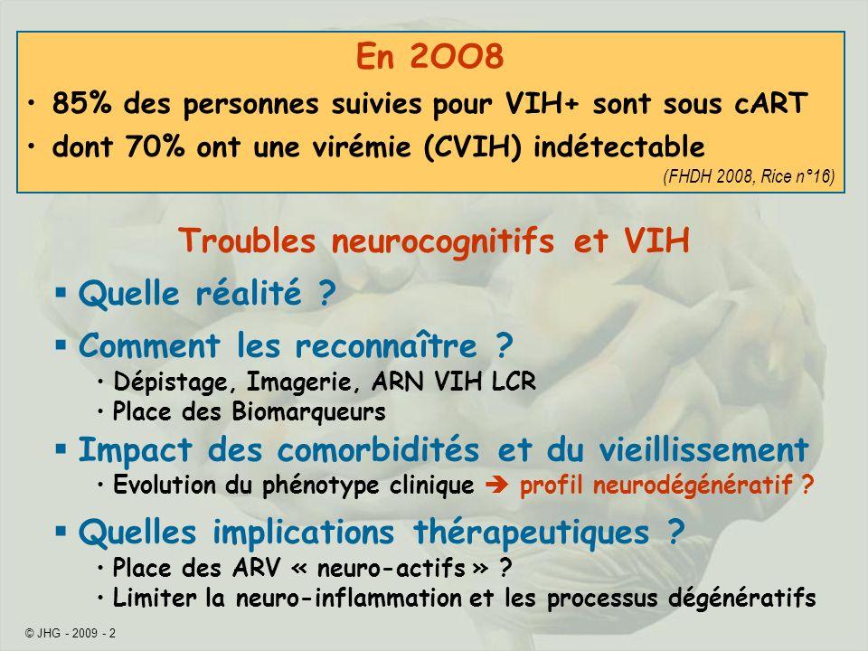 Troubles neurocognitifs et VIH