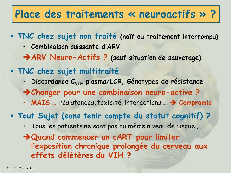 Place des traitements « neuroactifs »