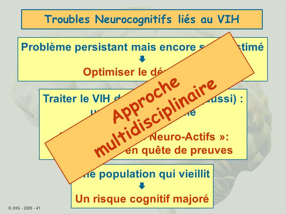 Troubles Neurocognitifs liés au VIH