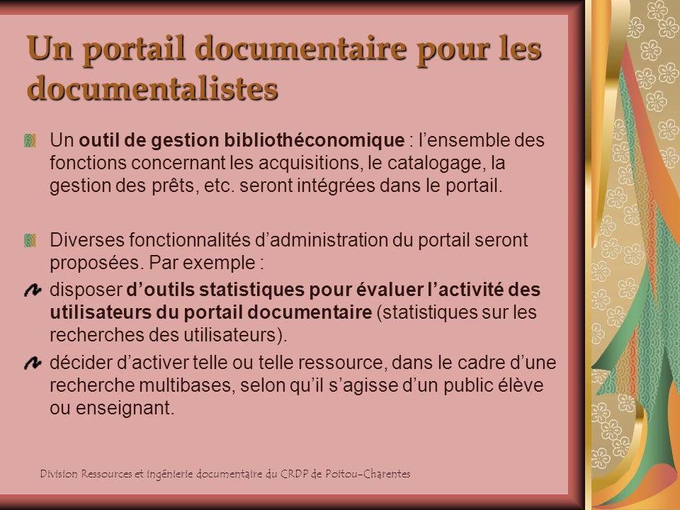 Un portail documentaire pour les documentalistes