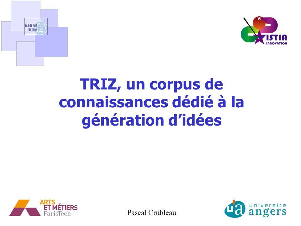 TRIZ, un corpus de connaissances dédié à la génération d'idées