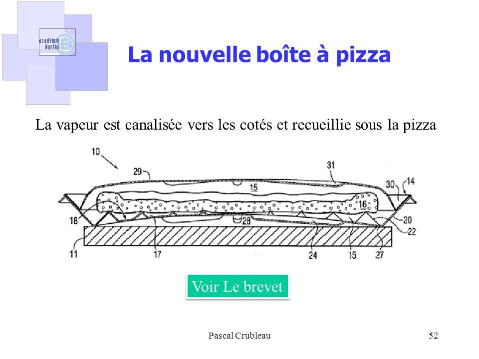 La nouvelle boîte à pizza