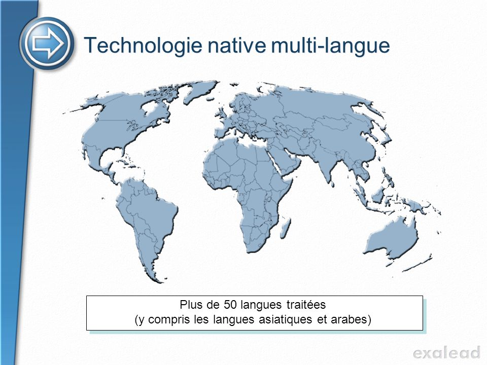 Technologie native multi-langue