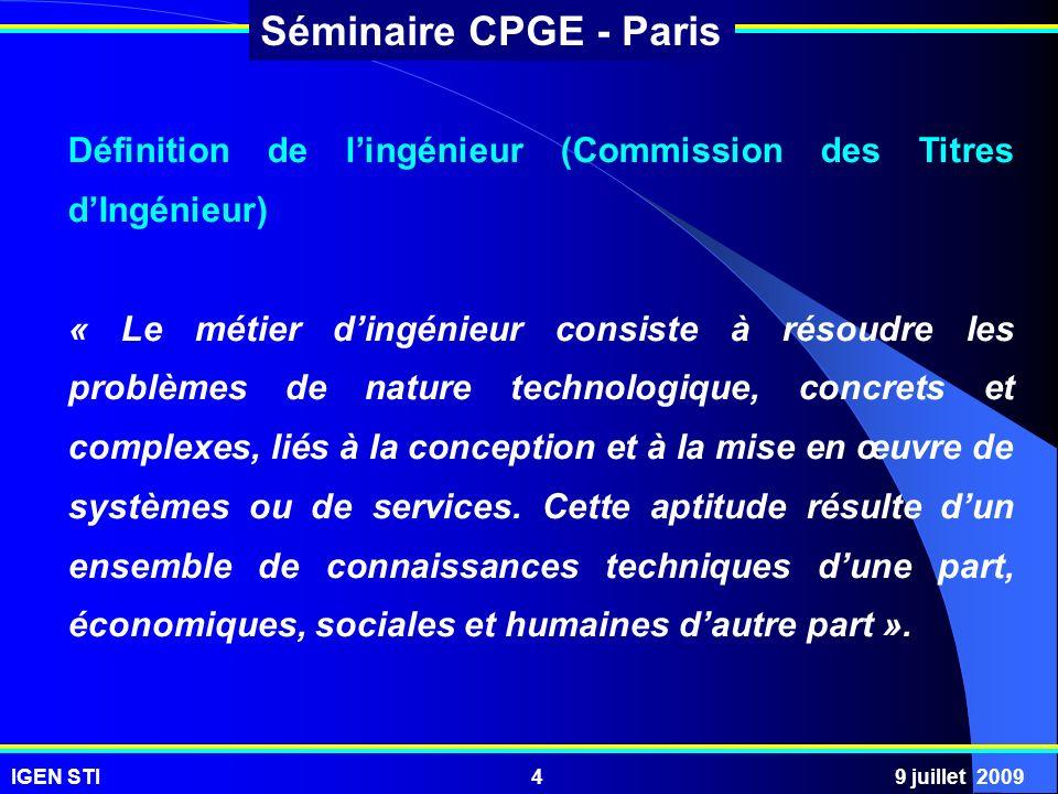 Définition de l'ingénieur (Commission des Titres d'Ingénieur)