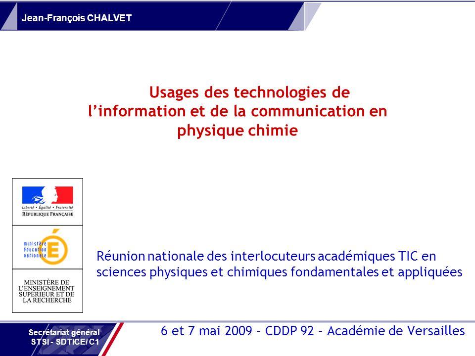 6 et 7 mai 2009 – CDDP 92 – Académie de Versailles