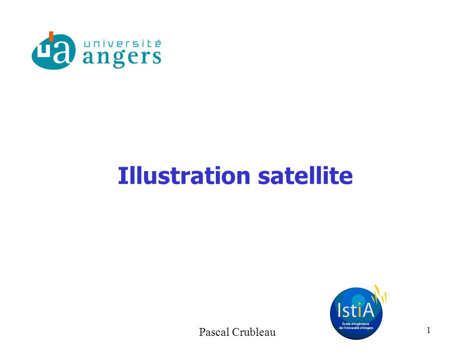 Illustration satellite