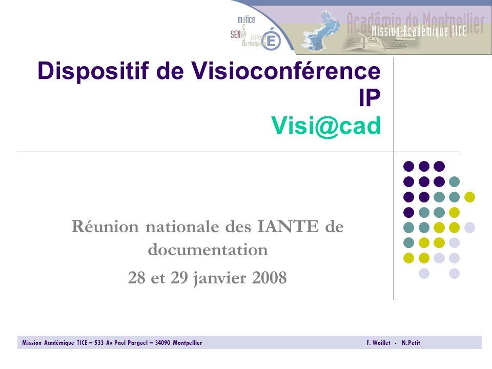 Dispositif de Visioconférence IP Visi@cad