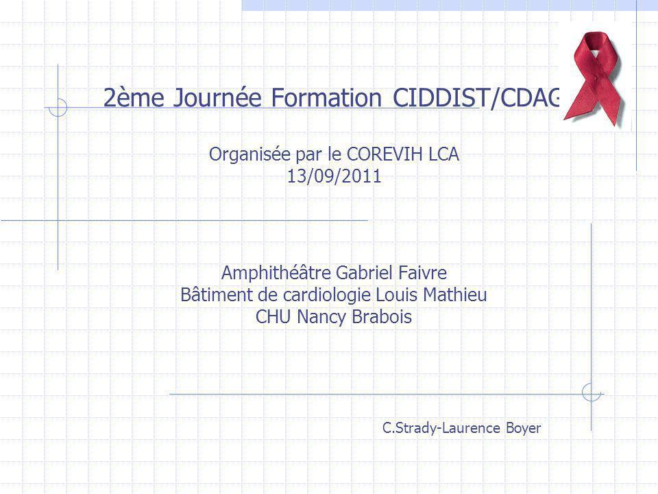 2ème Journée Formation CIDDIST/CDAG
