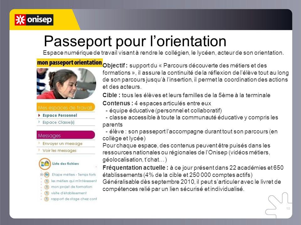 Passeport pour l'orientation